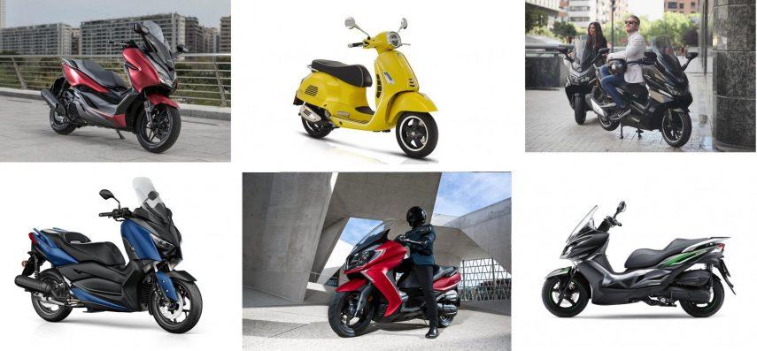 Los ocho mejores scooters GT de 125
