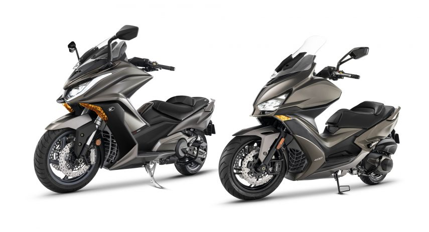KYMCO ak 550 y xciting s 400