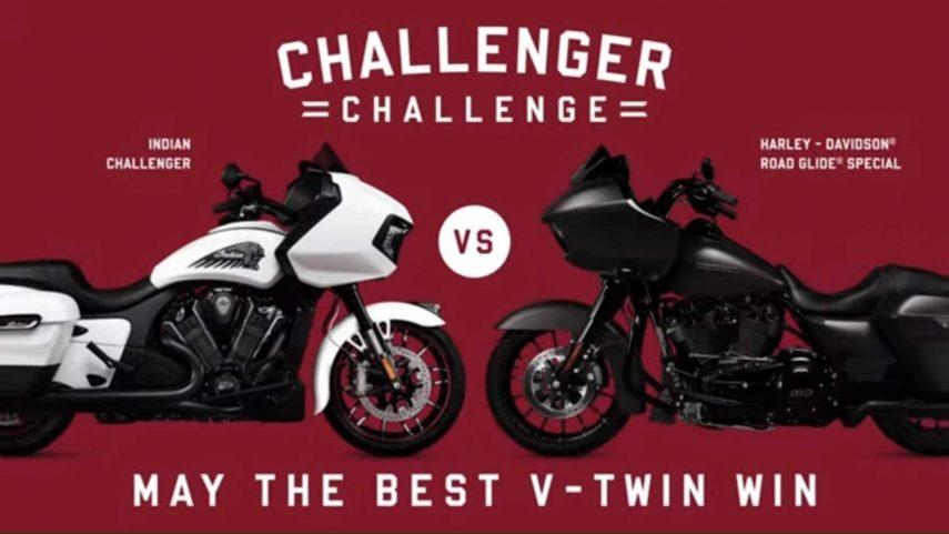 Harley-Davidson Vs Indian, vuelve una rivalidad ancestral
