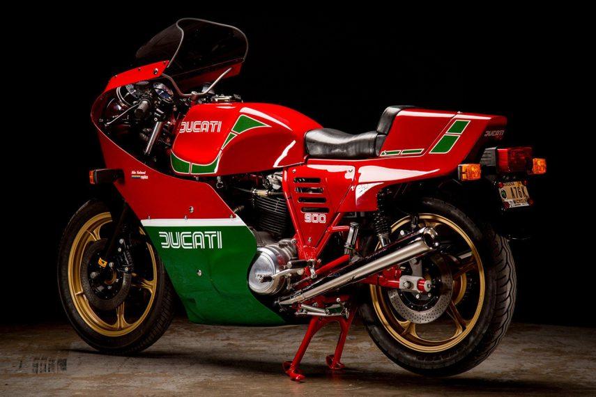 Moto del día: Ducati MHR 900