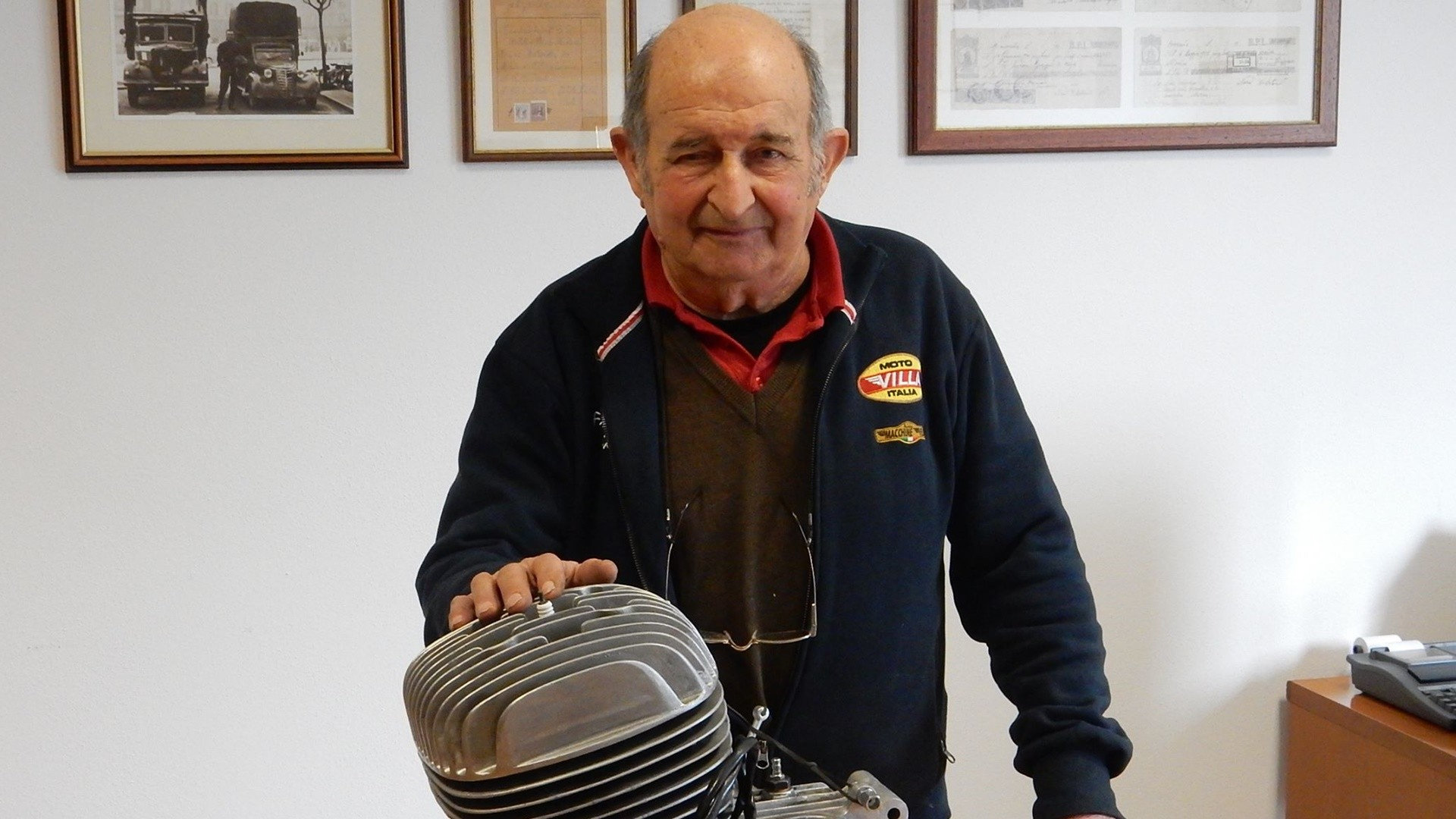 Adiós a Francesco Villa, el último de los fundadores de Moto Villa