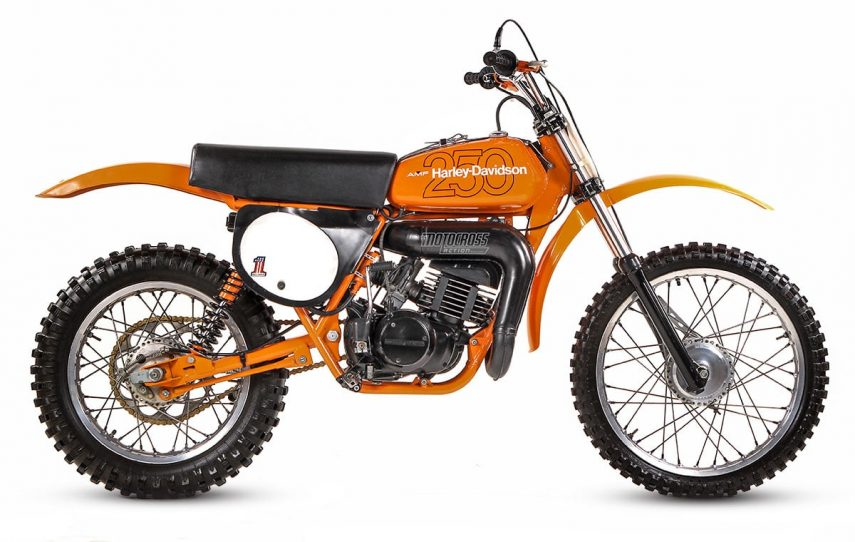 Moto del día: Harley-Davidson MX 250