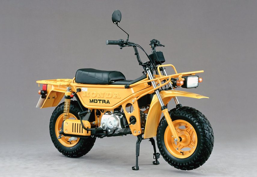 Moto del día: Honda CT 50 MOTRA