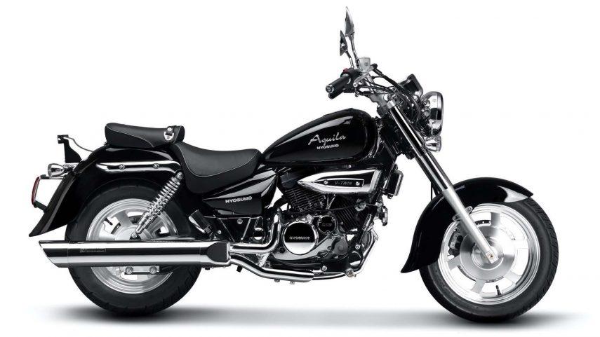 Moto del día: Hyosung GV 250 Aquila