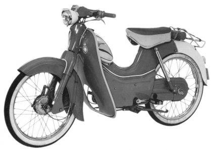 Kreidler Amazone 1958 K52 3 escudo