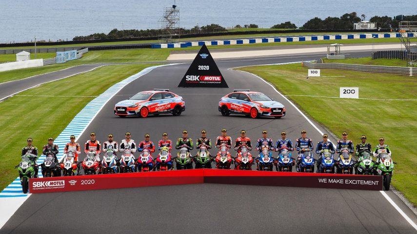 Horarios para la ronda de Superbikes en Australia 2020