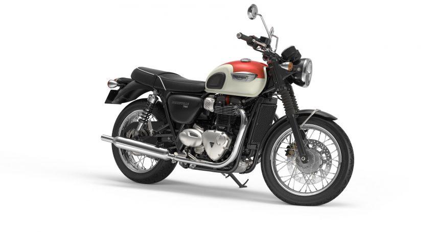 Triumph Boneville T100 2017 11
