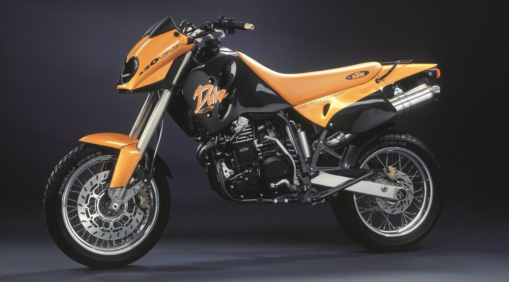 Moto del día: KTM Duke 620