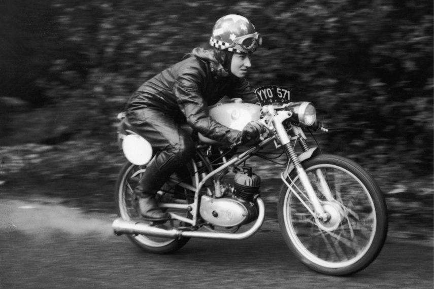 Beryl Swain, la primera piloto del TT de la Isla de Man