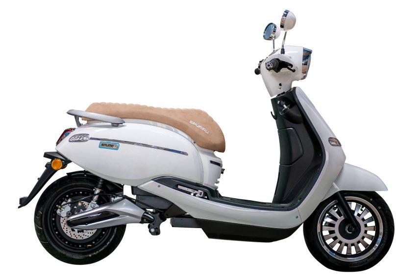 Ebroh pone a la venta el scooter eléctrico Spuma Li 5K