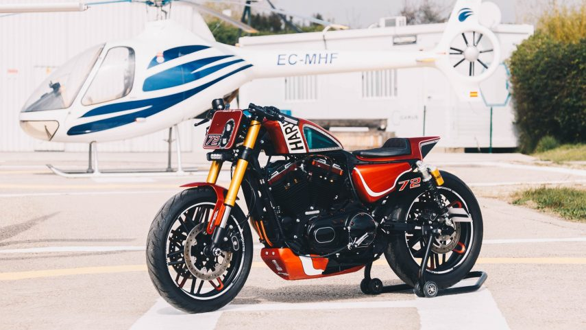 Daytona's Red por Harley-Davidson Barcelona, finalista del King of Kings 2020