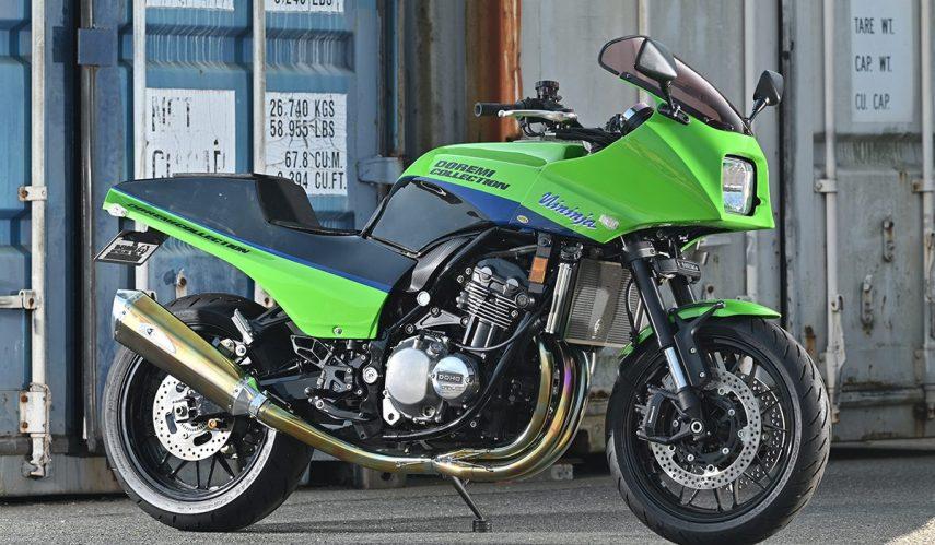 Esta Kawasaki Z 900 RS convertida en GPZ 900 R te alegrará la tarde