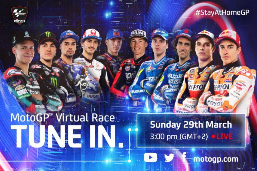MotoGP vuelve con el GP Quédate en casa