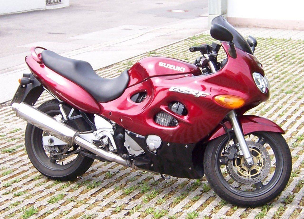 Moto del día: Suzuki GSX 750F (1998)