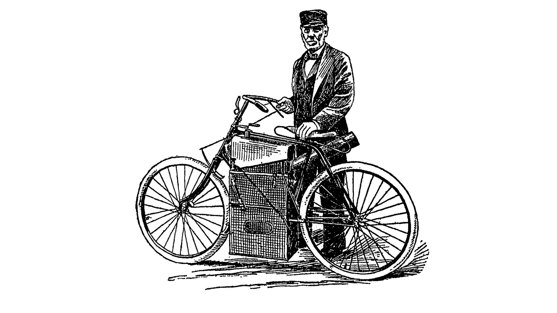 Moto del día: Velocípedo Roper a vapor