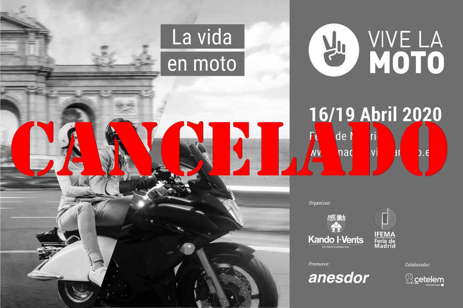 El Salón Vive la Moto 2020 se ha cancelado también