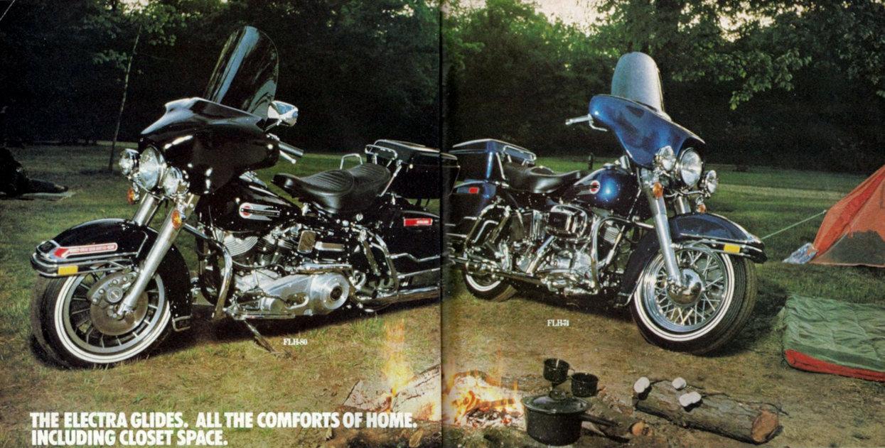 Moto del día: 1979 Harley-Davidson FLH 80 Electra Glide