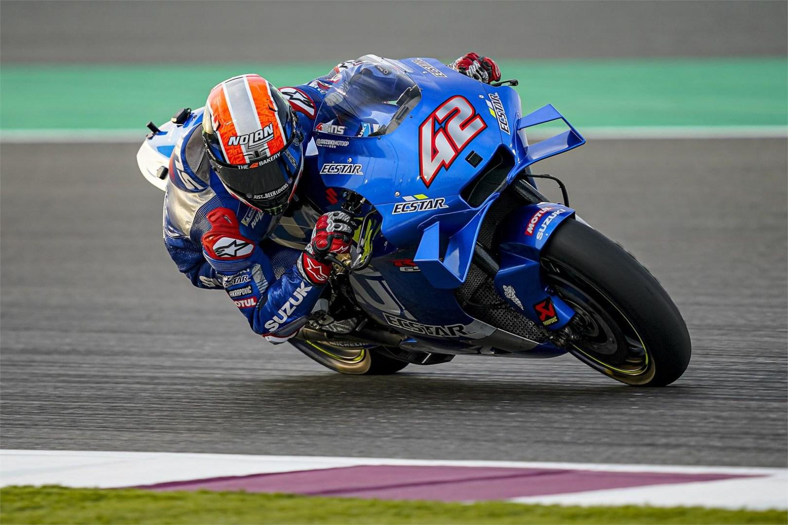 Álex Rins renueva con Suzuki hasta 2022