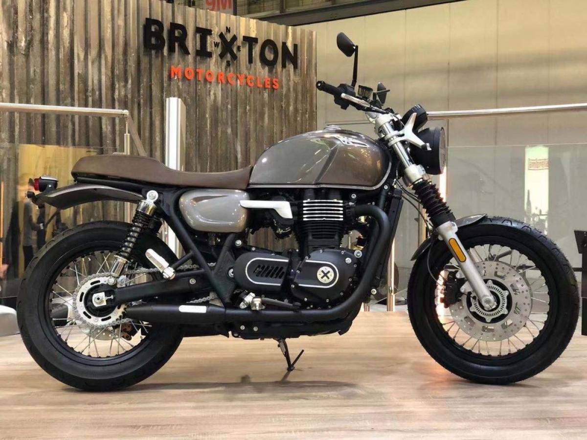 Brixton prepara su propia Bonneville con una retro bicilíndrica de 1200 cc
