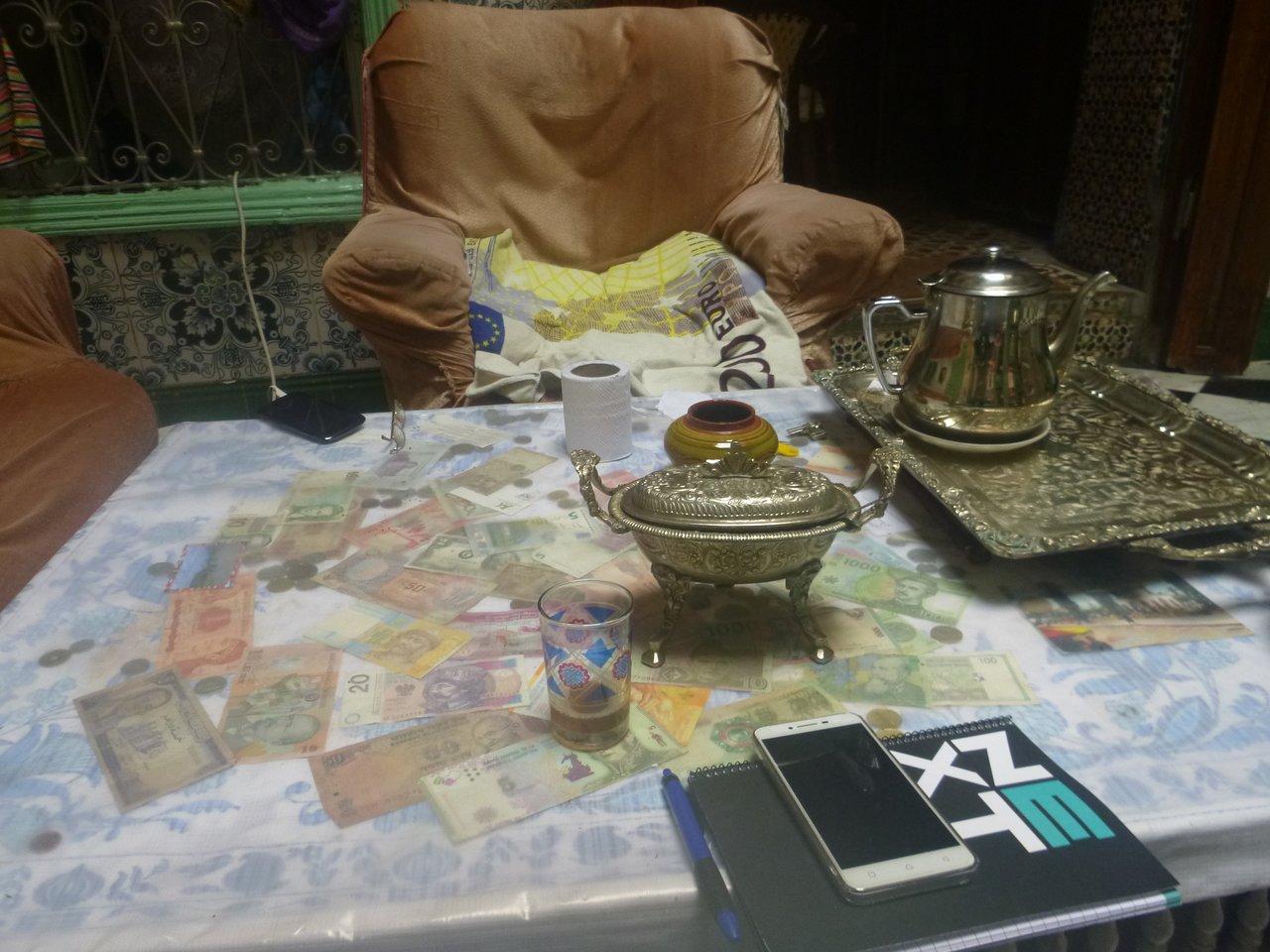 foto de la mesa del espacio