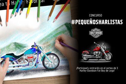 #PequeñosHarlistas, el concurso de dibujo organizado por Harley-Davidson