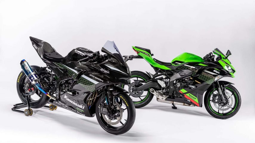 Kawasaki Ninja ZX-25R Racing, la preparación de carreras