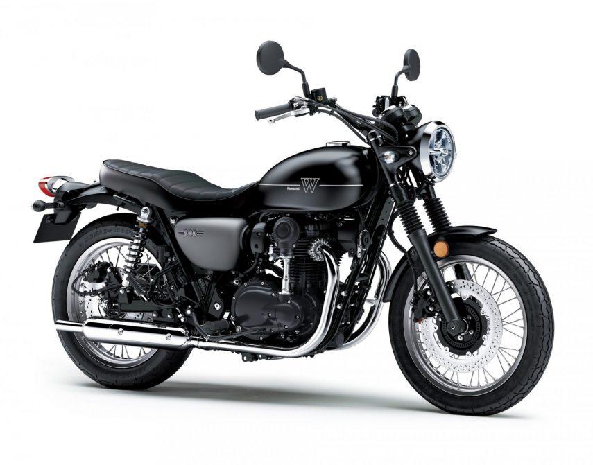Moto del día: Kawasaki W 800