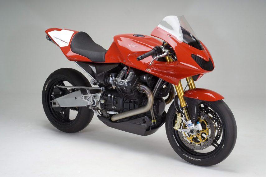 Moto del día: Moto Guzzi MGS-01 Corsa