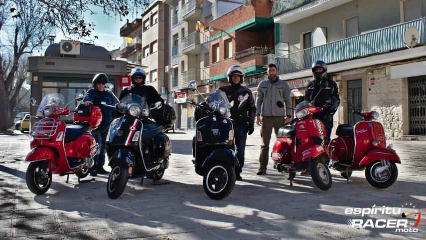 Vuelta a los orígenes: montar en Vespa