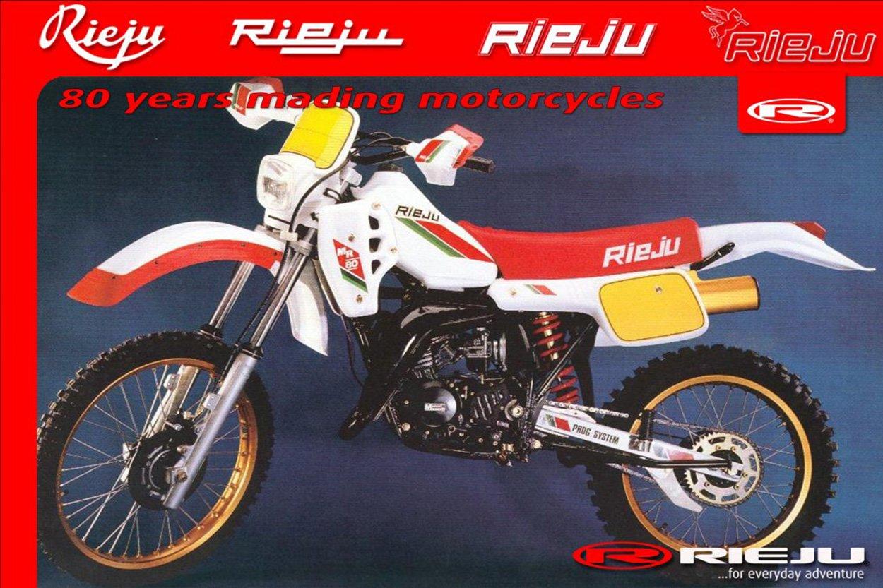Moto del día: Rieju MR 80