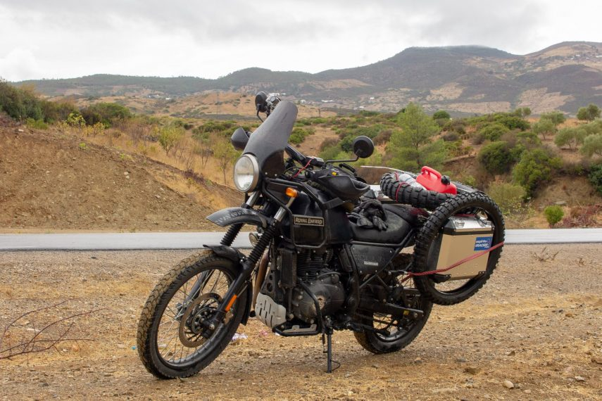 Royal Enfield Himalayan Marruecos