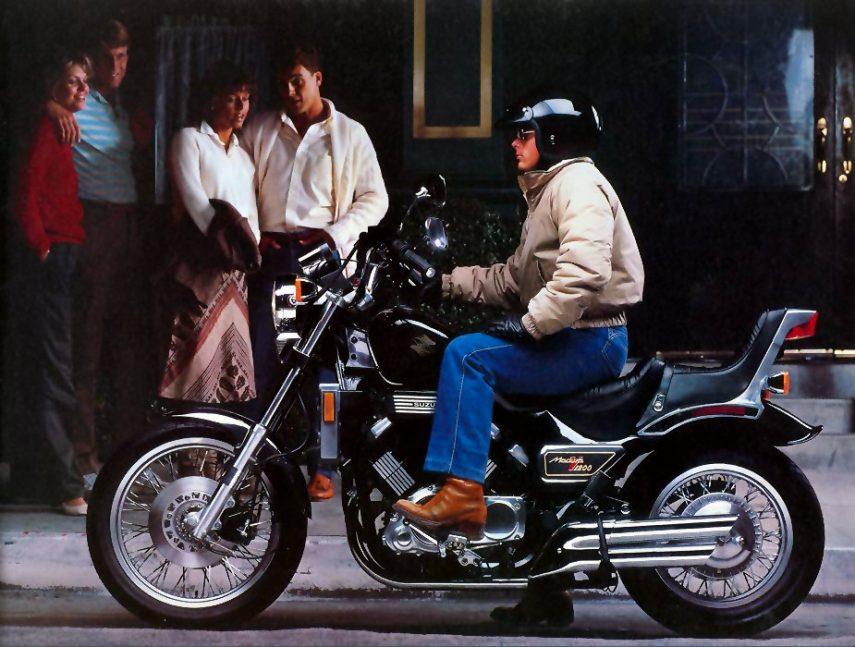 Moto del día: Suzuki GV 1200 Madura