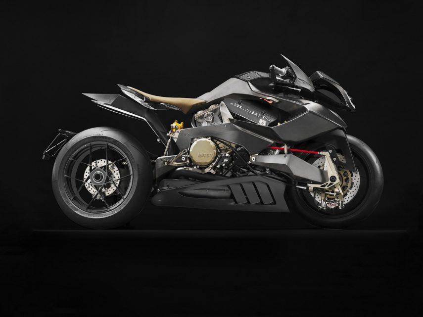 Vyrus Alyen 988, una moto llegada de otro planeta