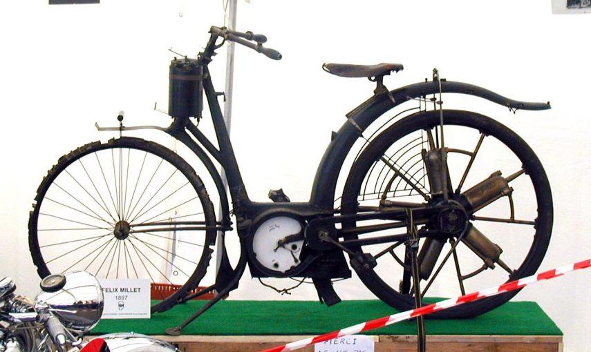 Moto del día: Motocicleta Millet