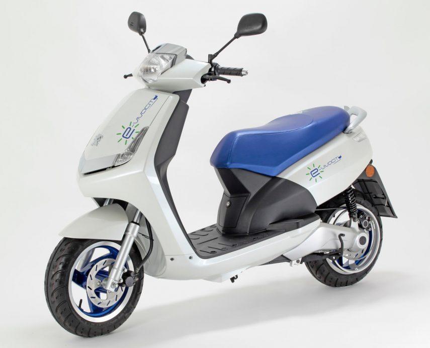 Moto del día: Peugeot e-Vivacity
