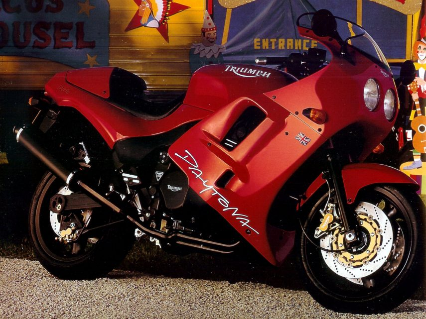 Moto del día: Triumph Daytona 1200