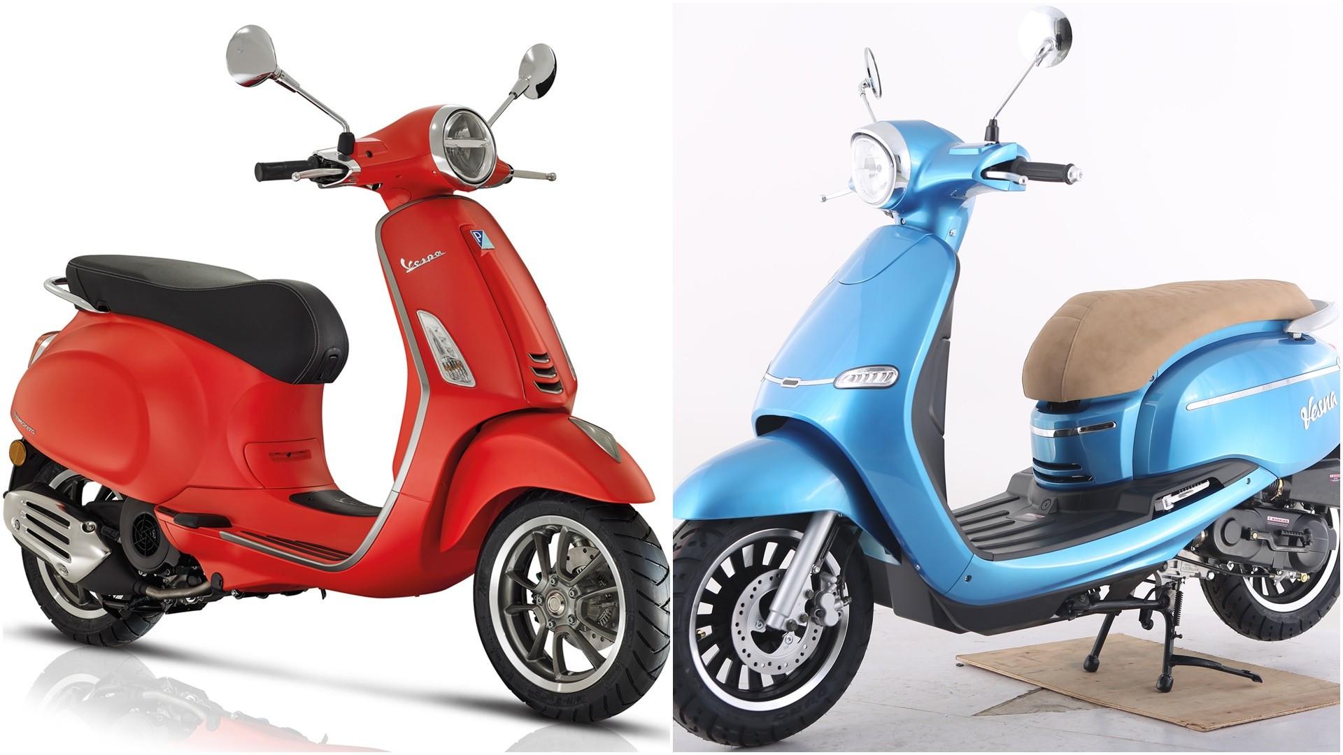 La Vespa, esa moto que todo el mundo quiere copiar pero no siempre pueden