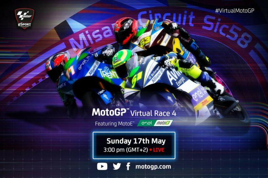 San Marino será la cuarta prueba virtual de MotoGP