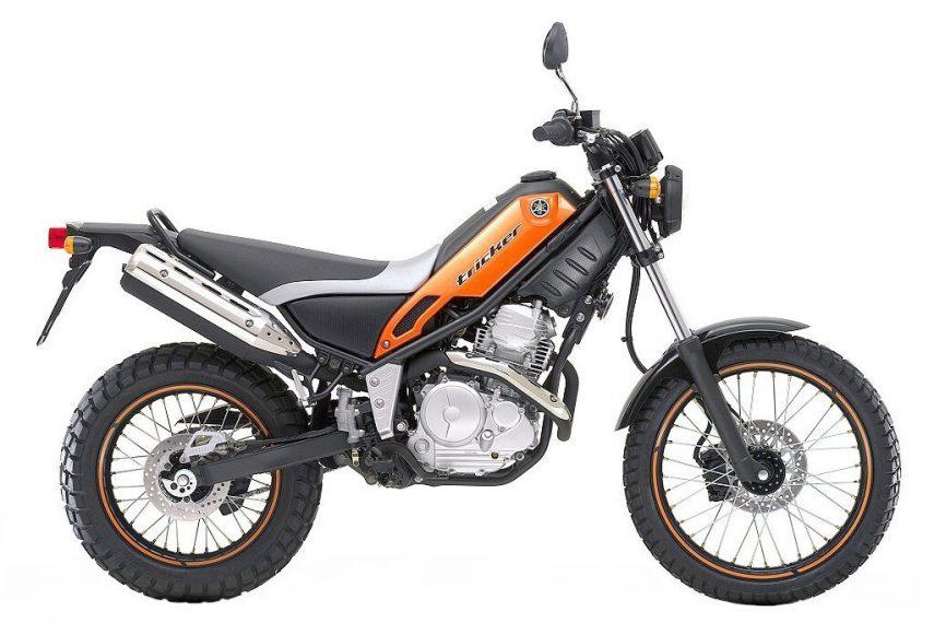 Moto del día: Yamaha XG 250 Tricker