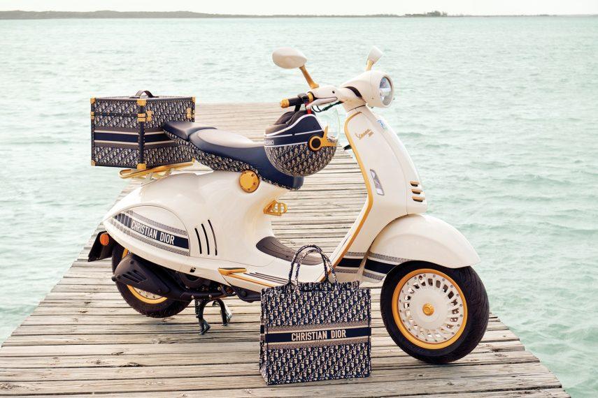Vespa 946 Christian Dior, elegancia italiana al estilo parisino