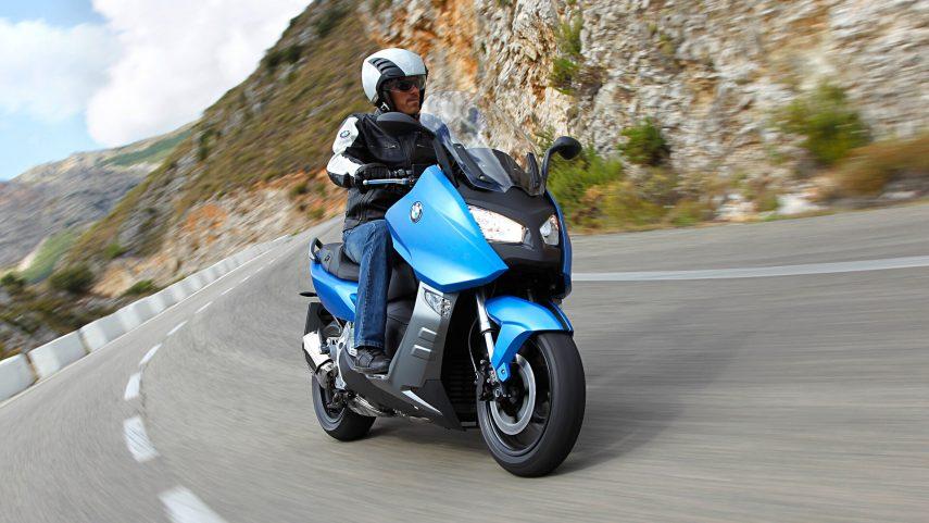 Moto del día: BMW C 600 Sport (2012)