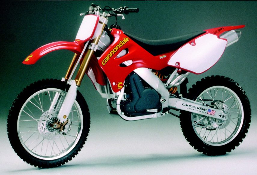 Moto del día: Cannondale MX 400