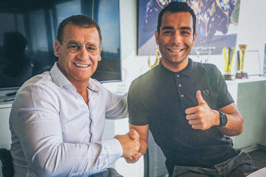 Danilo Petrucci firma con el Red Bull KTM Tech3
