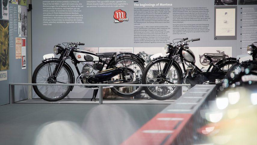 Montesa celebra su 75 aniversario con una exposición en el Palau Robert de Barcelona