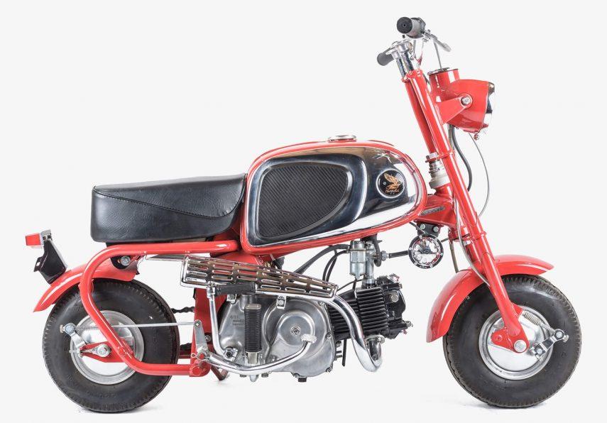 Moto del día: Honda CZ 100