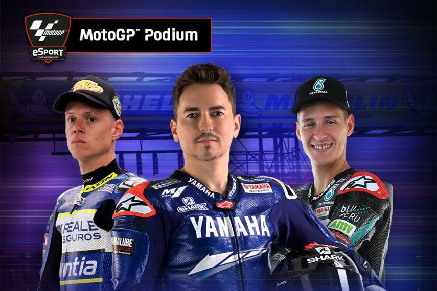 Nepa, Bendsneyder y Lorenzo ganan en el Silverstone virtual