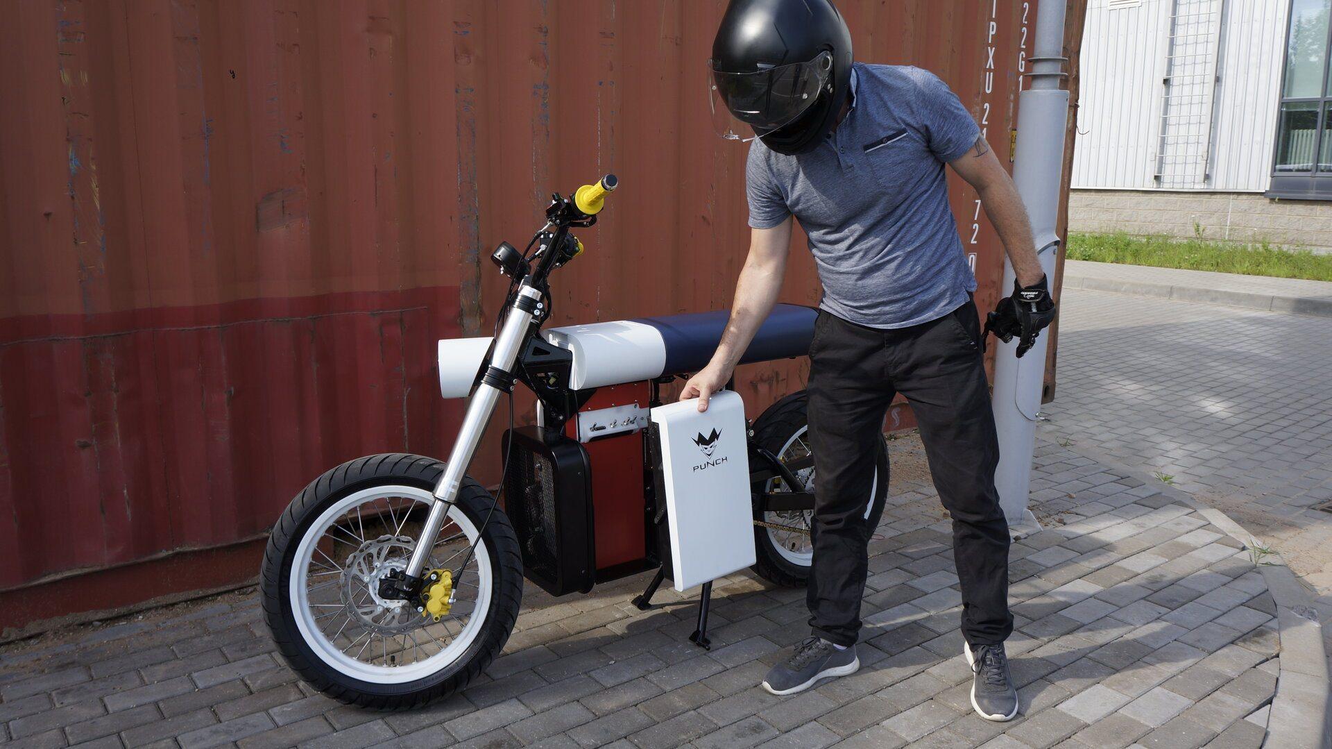 Punch Moto, una eléctrica futurista con sabor bielorruso