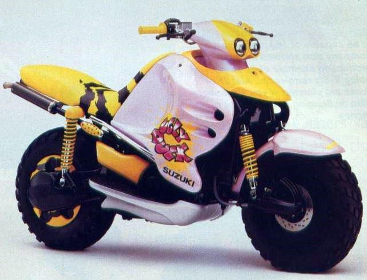 """Moto del día: Suzuki XF 425 """"Ugly Duck"""""""