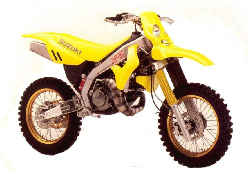 Moto del día: Suzuki XF 5