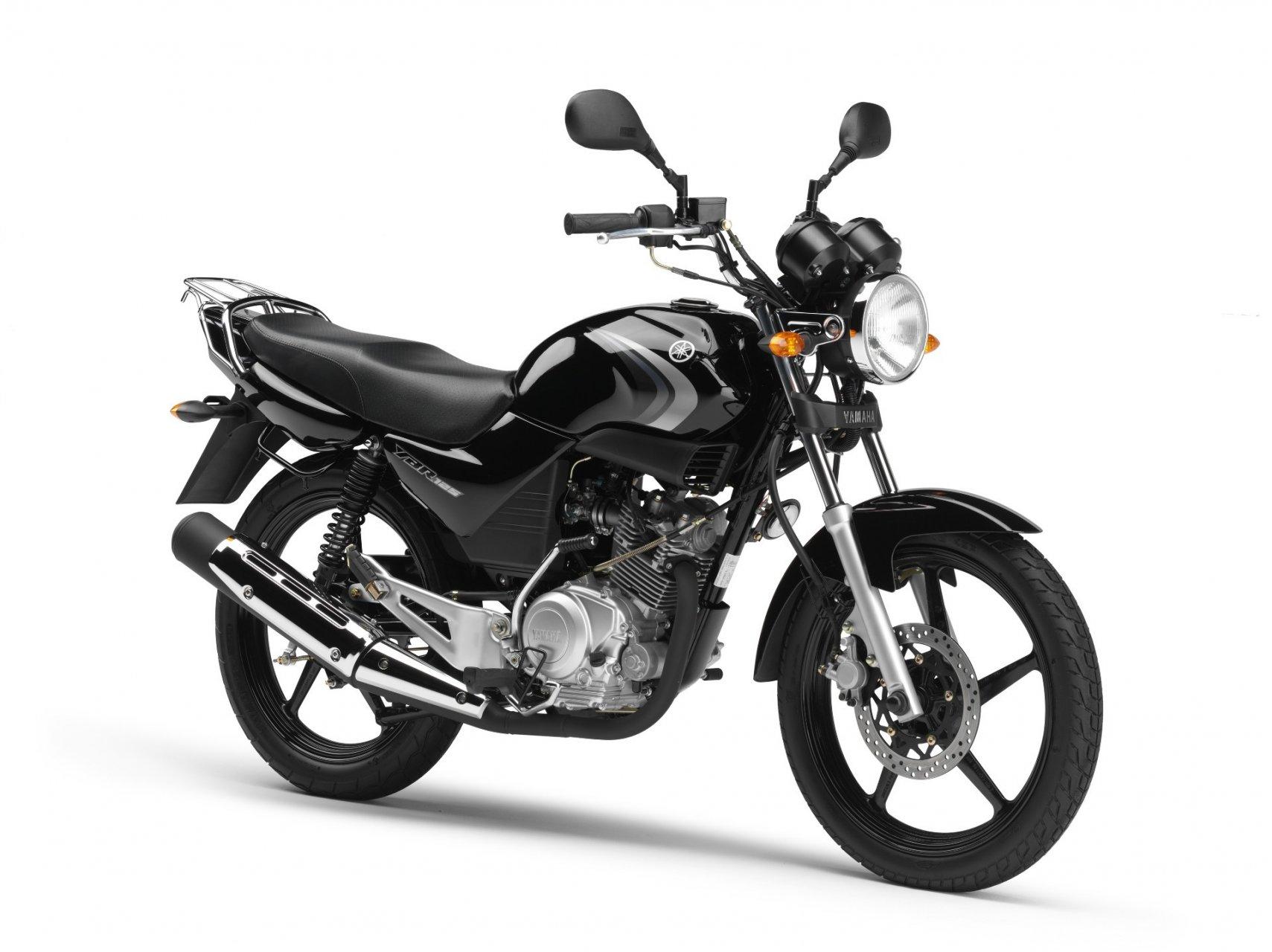 Todo sobre motos: Yamaha 125 YBR E